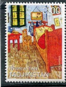 Tajikistan 1999 VINCENT VAN GOGH Painting 1 value Perforated Mint (NH)