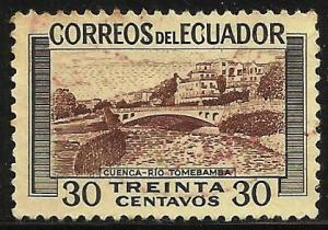 Ecuador 1953 Scott# 579 Used