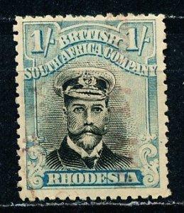 Rhodesia #130 Single Used