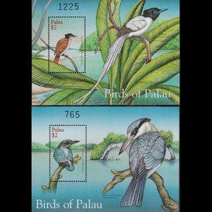 PALAU 2001 - Scott# 641-2 S/S Birds NH