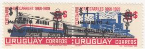 Uruguay, Sc Q103A, MNH, 1953, Train