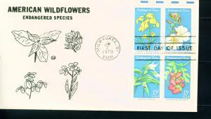 1786a Endangered Flora Block