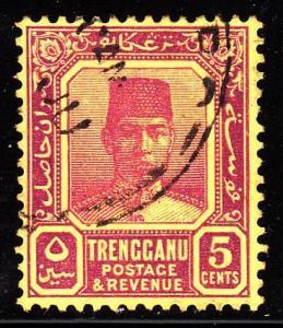 Malaya - Trengganu 26 - used