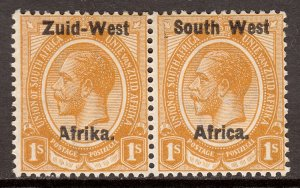 South West Africa - Scott #7 - MH - Toning, two light creases - SCV $27