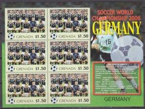 2006 Grenada 5706KL 2006 FIFA World Cup Germany( Germany ) 9,00 €