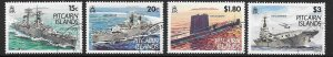 PITCAIRN ISLANDS SG426/9 1993 ROYAL NAVY FINE USED