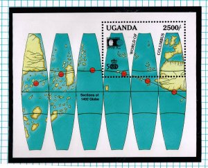 WORLD WIDE 1992 500th Anniversary Discovery AMERICA MNH  COLLECTION LOT #F19