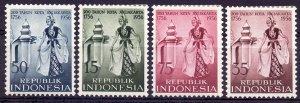 Indonesia. 1956. 186-89. 200 years of Jakarta. MLH.
