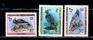 Afghanistan 707-09 MLH 1965 Birds