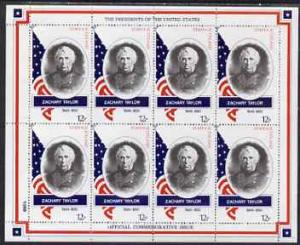 Staffa 1982 Presidents of the United States #12 Zachary T...
