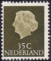 Netherlands # 350 mnh ~ 35¢ Queen Juliana