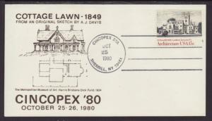 US Cincopex 80 Cottage Lawn 1980 Cover BIN