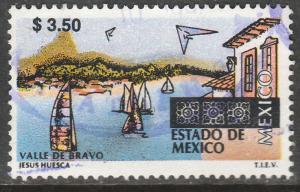MEXICO 1970, $3.50 Tourism Mexico, Valle de Bravo. USED. F-VF. (1389)