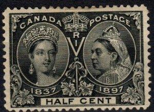 Canada #50  Unused CV $110.00 (X5691)