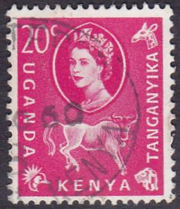 Kenya Uganda and Tanganyika 1960 SG186 Used
