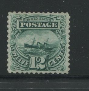 1880 US Stamp #128 12c Mint Very Fine No Gum Catalogue Value $900