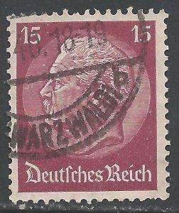 GERMANY 394 VFU L572-1