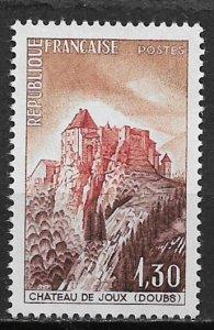 1965 France 1112 Joux Chateau MNH