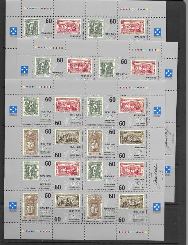 Micronesia 168,C49 and more MNH stock vf, see desc. 2019 CV$393.50