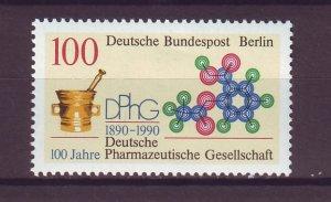 J25002 JLstamps 1990 germany berlin set of 1 mnh #9n591 design medicine