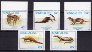 Senegal MNH 1093-7 Wild Animals 1994