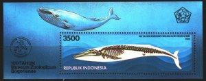 Indonesia. 1994. bl97. Whale fauna. MNH.