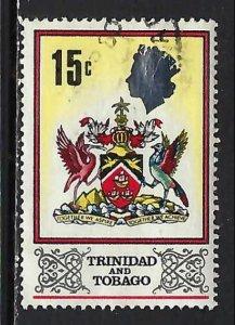 TRINIDAD & TOBAGO 151 VFU ARMS Z2217-8