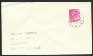 GB SCOTLAND 1971 cover ACHMORE / ISLE OF LEWIS cds.........................66593