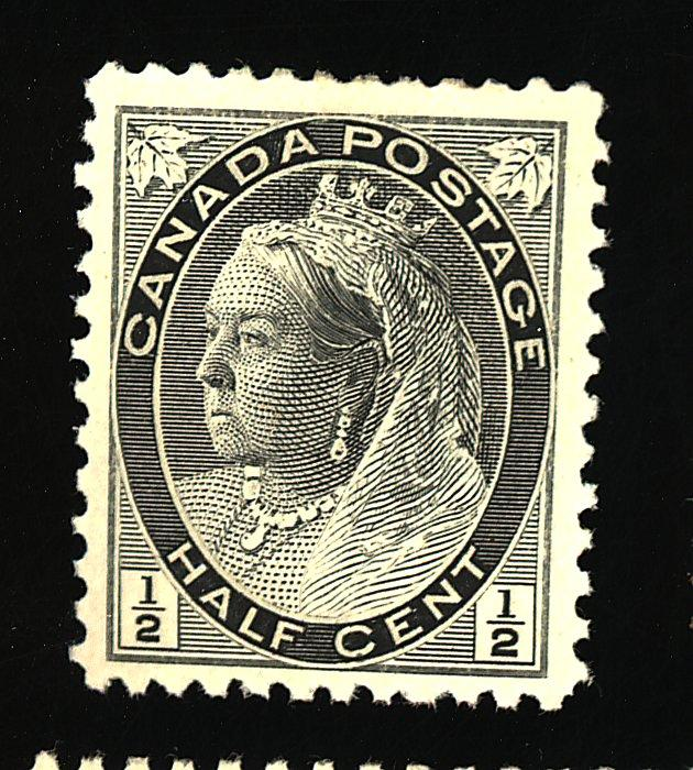Canada #74 MINT VF OG LH Cat$10
