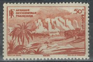 French West Africa - Scott 39 MNH