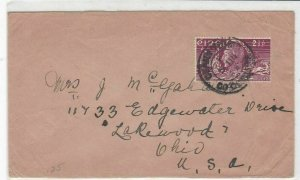eire ireland 1949 stamps cover ref 19502