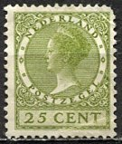 Netherlands; 1927: Sc. # 187: */MH Single Stamp