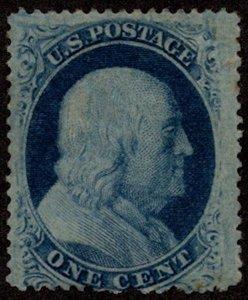 #24  Scott CV $140  #24 VF OG Hr, full og, fresh stamp,  Choice!