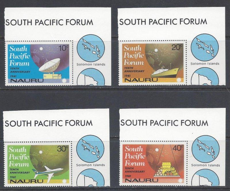 Nauru MNH 240-3 South Pacific Forum