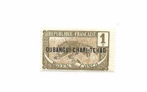 Chad 1924 - Unused - L.P. $300 - Scott #19C