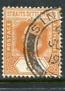 Straits Settlements #133 Used