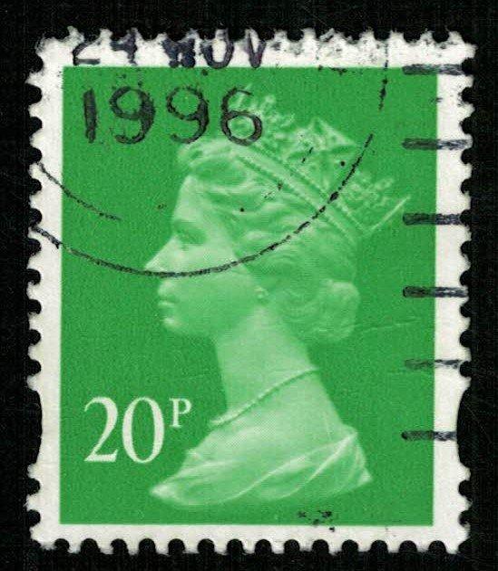 1996, Queen Elizabeth II, 20 PENNY, SG #Y1751 (T-4888)