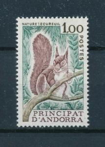 [98423] Andorra French 1978 Wild Life Squirrel  MNH