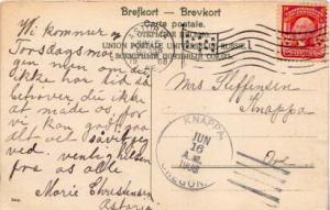 United States, 1902 Definitives, Flags, Machine Cancel, Oregon
