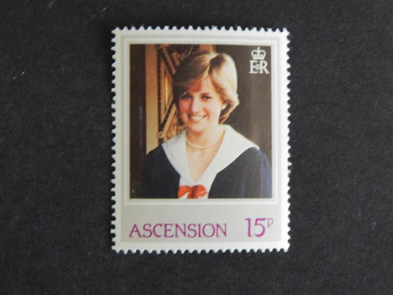 ASCENSION 1982 THE 21ST ANNIVERSARY OF THE BIRTH OF DIANA, PRINCESS OF WALES MNH