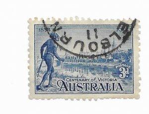 Australia #143 Perfs Used - CAT VALUE $7.00