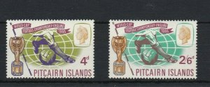 PN94) Pitcairn Islands 1966 World Cup Football Championship England MUH