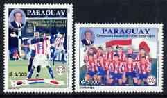 Paraguay 2002 Football World Cup (Japan/Korea) perf set o...