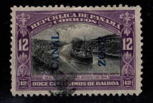Canal Zone Scott 49 used 1914 stamp