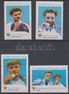 Uzbekistan stamp Athen, Olympic medal winners set MNH 2006 Mi 602-605 WS112081