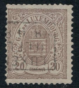 Luxembourg #45  CV $20.00