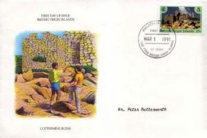 British Virgin Islands, First Day Cover