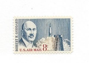 United States, C69, Robert Goddard Airmail Single, MNH