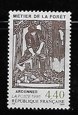 France 2475 Forestry Profession single Used