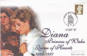 GB 1997 Diana Princess of Wales Mercury Cover FDC Unadressed VGC
